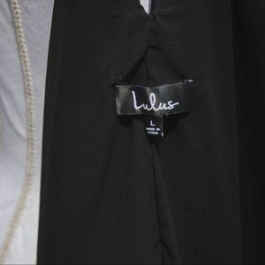 Lulu's Dresses - Lulus Black Strappy Dress